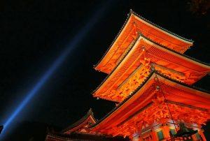 京都観光 清水寺三重塔